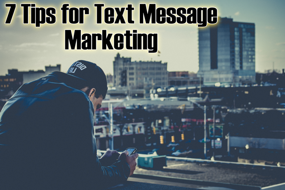 7 tips for marketing