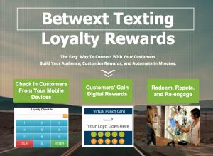 Betwext Texting Loyalty Rewards Platform