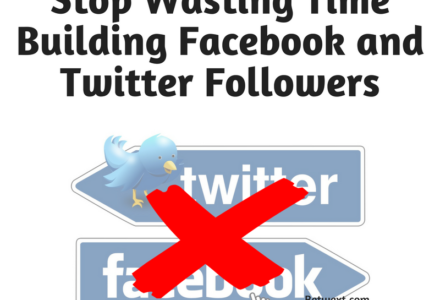 091216 Stop Wasting Time Building Facebook and Twitter Followers