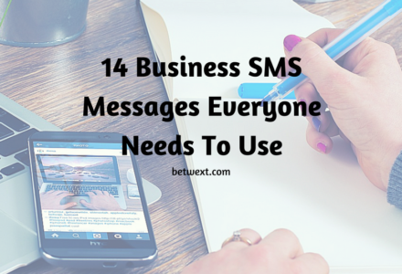 Business SMS messages everyone needs