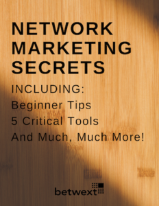 Network Marketing Secrets Cover