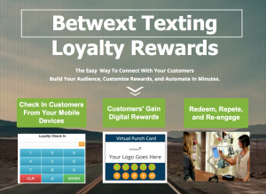 Betwext Texting Loyalty Rewards Platform
