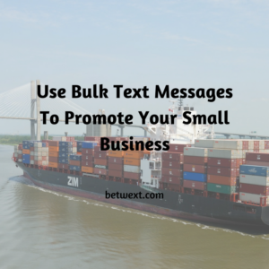 Use Bulk Text to Promote Your Small Business