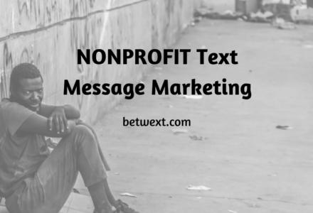 Non Profit Text Marketing