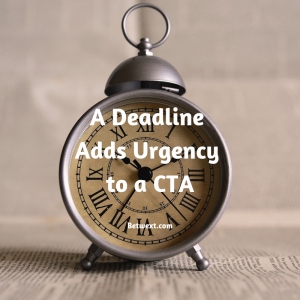 A Deadline Adds Urgency to a CT