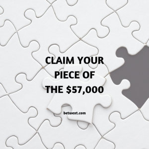 Claim Your Piece of the $57,000 Puzzle