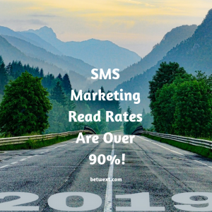 SMS Marketing Read Rates Are Over 90%!