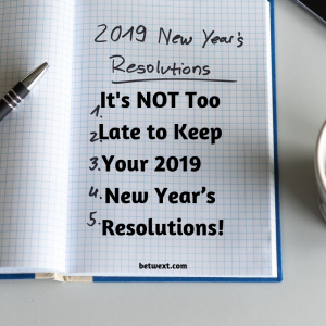 New Year Resolutions You Must Keep