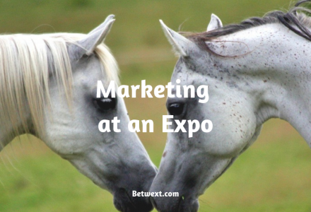 Marketing at an Expo