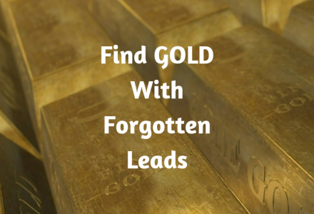 Find GOLD With Forgotten Leads