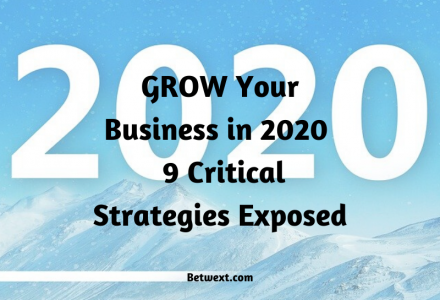 Grow Your Business in 2020 9 Critical Strategies Exposed