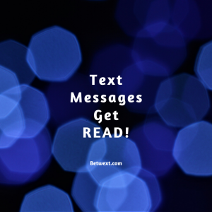 Text Messages Get READ!